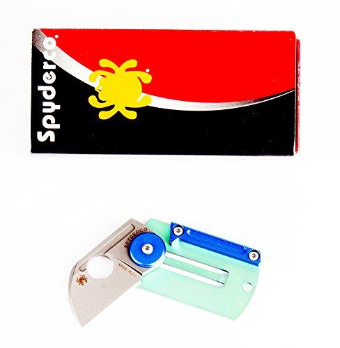 Spyderco SC188ALTIP Cuchillo tascabile,Unisex - Adultos, Verde, un tamaño