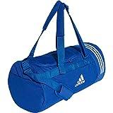 adidas Convertible 3-Streifen Duffelbag Bolsa de Deporte, Hombre, Reauni/Blanco, 45 cm