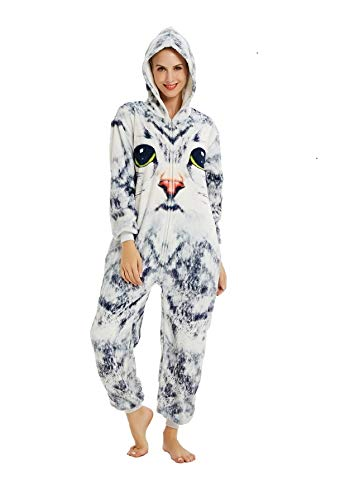 Emmarcon - Pijama Kigurumi - Pijama modelo animalito - Mono enterizo - Ideal incluso como disfraz de...