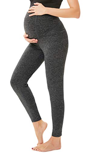 Maternity Pants for Women Comfy Stretch Pull-on Work Out Leggings