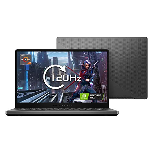 ASUS ROG Zephyrus G14 - GA401II 14' Full HD 120Hz Gaming Laptop (AMD Ryzen 7 4800H, Nvidia GeForce GTX 1650Ti 6GB Graphics, 512GB PCI-e SSD, 16GB RAM, Windows 10), Grey
