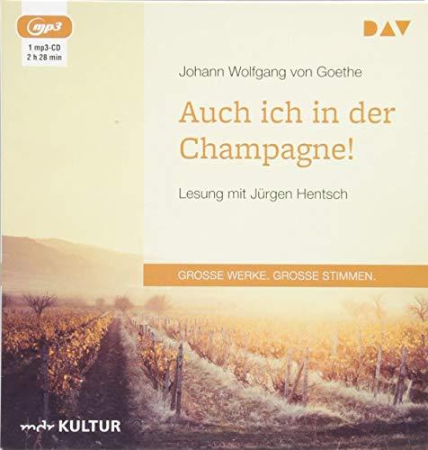 Auch ich in der Champagne!: Lesung mit Jürgen Hentsch (1 mp3-CD)