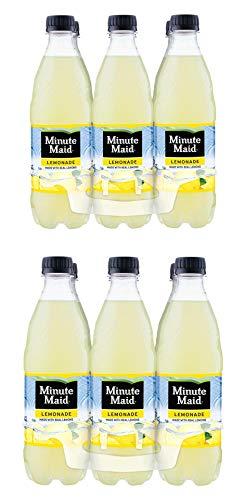 minute maid lemonade 16.9 fl oz pack of 2 total 12 bottles 202.8 fl oz