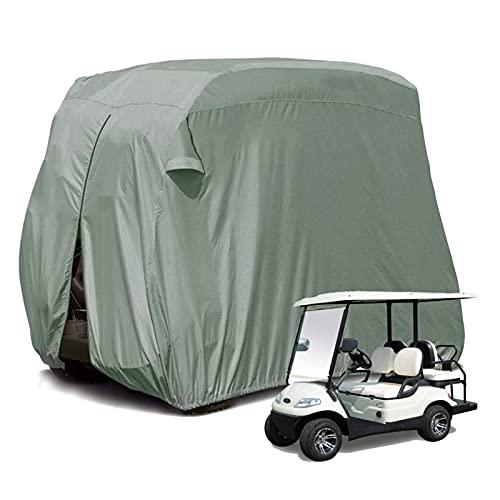 Mr.LQ Copertura per Carrello da Golf, Copertura per Carrello da Golf All'aperto Compatibile con Materiale 300D + Rivestimento in PVC Extra Antipolvere Impermeabile