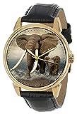 Arte de la naturaleza espectacular, elefantes...