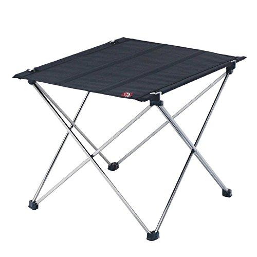 ROBENS Adventure S Camping-Tisch, Schwarz/Silber, 43 x 56 x 41 cm