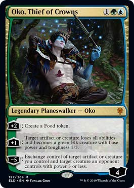Magic: The Gathering - Oko, Thief of Crowns - Foil - Throne of Eldraine