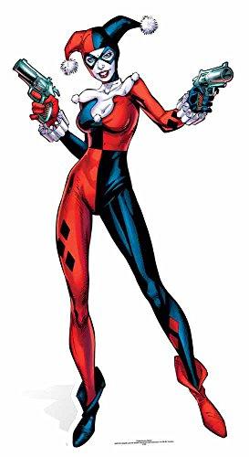empireposter Batman - Harley Quinn Comic - Pappaufsteller Standy - ca 162 cm