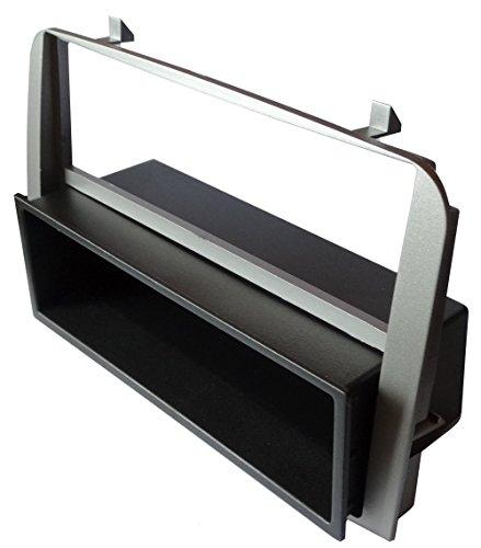 Aerzetix - autoradio-adapter radio diafragma autoradio frame adapter 1 DIN zilver