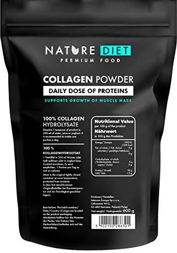 Nature Diet - Colágeno en polvo, 600 g