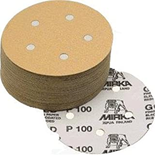Pack of 20 Sungold Abrasives 74720 5-Inch x 8 Hole 800 Grit Eclipse Film Hook and Loop Sanding Discs