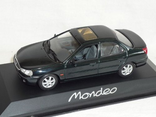 Minichamps Ford Mondeo Limousine GrÜn Schwarz 1996-2000 1/43 Modell Auto Modellauto
