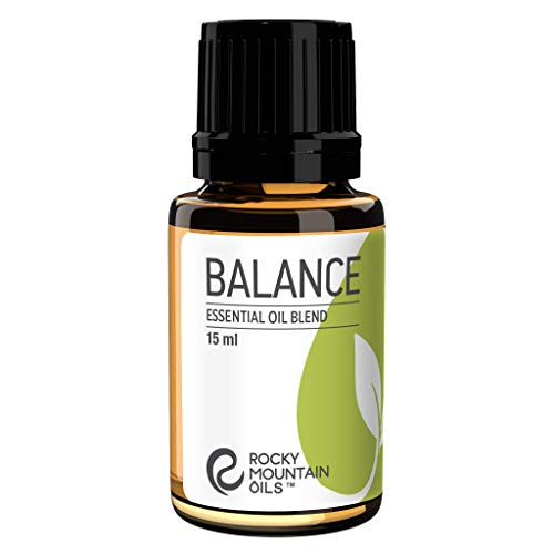 Rocky Mountain Oils Balance Essential Oil 15 ml - 100% Pure and Natural Essential Oil Blend