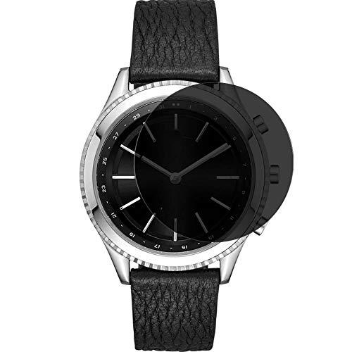 Vaxson Anti Spy Schutzfolie, kompatibel mit DKNY Minute 38mm Smartwatch Hybrid Watch, Displayschutzfolie Bildschirmschutz Privatsphäre Schützen [nicht Panzerglas]