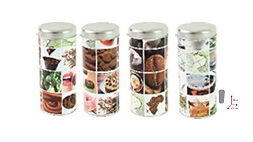 James Premium Kaffeepaddose 18 Pads -4er Set mit Padlifter