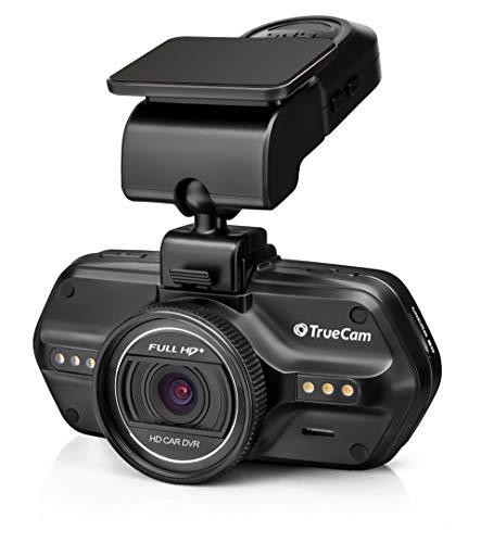 TrueCam A7s Dashcam Autokamera Geschätztes Modell in der aufgebesserten Version, Video in Full HD + (2k), GPS und Radarwarnung, Superkondensator und Batterie, LDWS