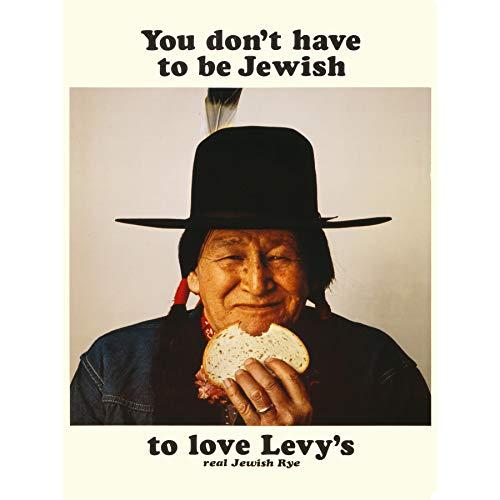 Wee Blue Coo Reklama jedzenie Levy chleb żytni rdzenny amerykański żydowski artystyczny nadruk na płótnie