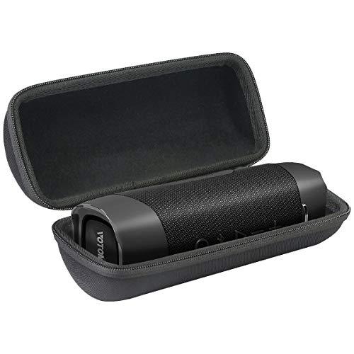 co2CREA Hart Reise Schutz Hülle Etui Tasche für VOTOMY 30W Bluetooth Lautsprecher, Schwarz (Nur Hülle)