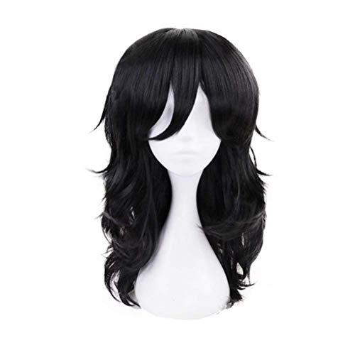 Yamia Anime Cosplay Wig for My Hero Academia Aizawa Shouta Synthetic Wigs with free Cap