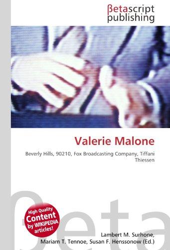 Valerie Malone: Beverly Hills, 90210, Fox Broadcasting Company, Tiffani Thiessen