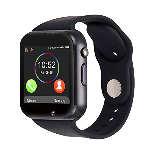 SMARTWATCH A1 ANTRACITE - TELEFONO CON SIM - TOUCHSCREEN - SMARTWATCH SIM TELEFONO CELLULARE BLUETOOTH MICRO SD PHONE