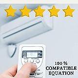 Mando Aire Acondicionado Equation - Mando a Distancia Compatible 100% con Aire Acondicionado Equation Entrega en 24-48 Horas. Equation MANDO COMPATIBLE