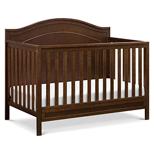 DaVinci Charlie 4-in-1 Convertible Crib in Espresso Greenguard Gold Certified