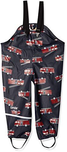 CareTec Kinder Regenlatzhose, wind- und wasserdicht (verschiedene Farben), Mehrfarbig (Pompeian Red 337), Herstellergröße: 74