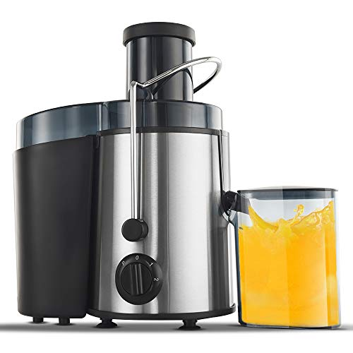 Centrifugal Juicers Machine, Homlpope Juice Extractor 3 speed model, Press Centrifugal Juicing Machine with BPA Free material, Fruit Vegetable Juicer Easy to Clean