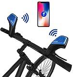 Bicycle Speaker and bell,Unlimited range and Noisefree intercom walkie talkie...