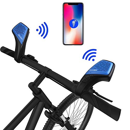 Bicycle Speaker and bell,Unlimited range and Noisefree intercom walkie talkie system,Intercom Speaker,Wireless Bluetooth Speaker,LECCER Portable Stereo Speaker with HD Audio, Build-In Dual Driver Spea