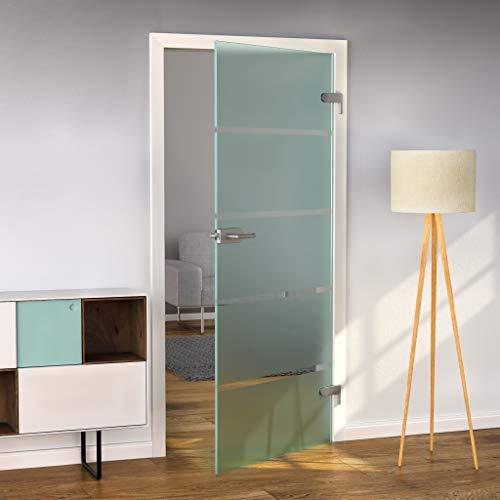 bijon® Glastür T6 | Studio/Studio | 709x1972 mm | DIN Rechts