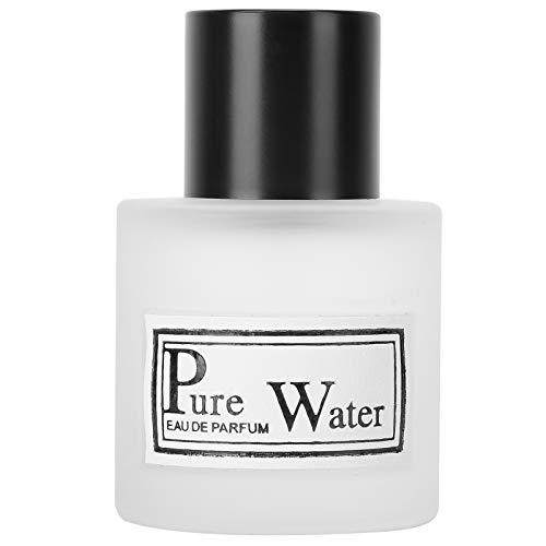 Perfume para hombre Fragancia ligera Botella de spray para caballero Perfume de larga duración Fragancia floral y afrutada Atomizador único para novio, marido, parientes(Latido del corazón blanco)