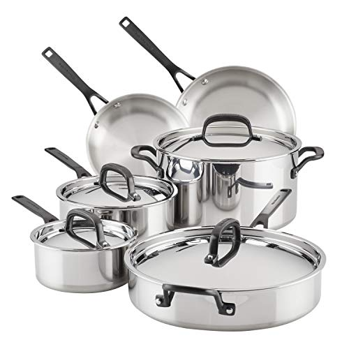 KitchenAid 5-Ply Clad Cookware Set