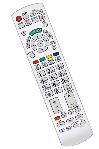 Geeignet für Panasonic Fernbedienung für Panasonic N2QAYB000504 Fernseher TV Remote Control / D1170 / Neu
