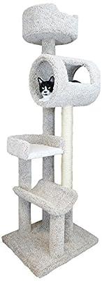 New Cat Condos 190171-Neutral Activity Tree, Large, Neutral