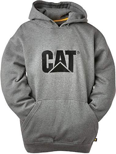 Caterpillar Mens Trademark Sweater Heather Grey Size UK X EU XL