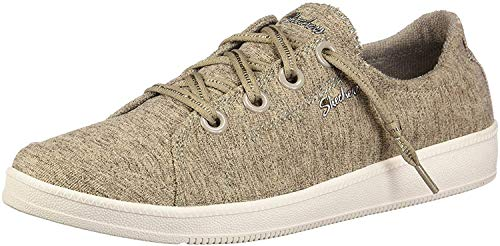 Skechers Madison Ave-Inner City, Zapatillas para Mujer, Beige (Taupe TPE), 40 EU