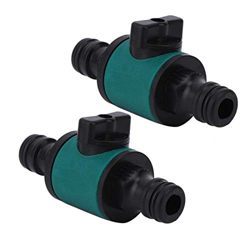 Conector de pezón de doble paso de 2 piezas 8.8 * 4.2 cm / 3.5 * 1.7in nuevo para jardinería