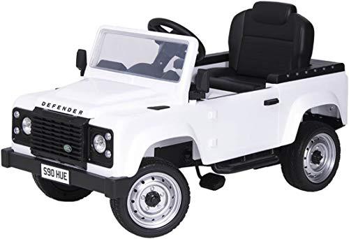 Toma Tretauto Land Rover Defender weiß Exklusiv Go Kart Premium ab 3 Jahren Pedalfahrzeug Kinderauto