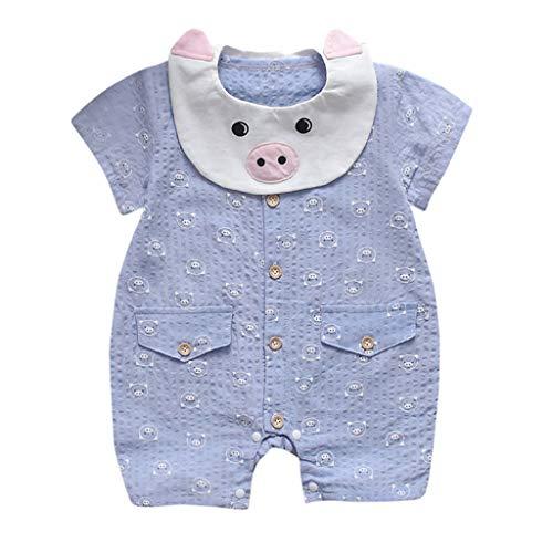 Divertido Pijama,K-Youth Mameluco Bebe Niña Recien