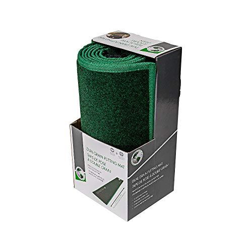 Golf Gifts & Gallery JEF World of Golf Dual Grain Putting Mat Green