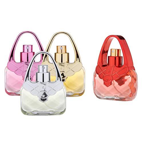 Milageto 4pcs Eau de Fragrance Perfumes Set de Regalo Eau de Toilette en Miniatura