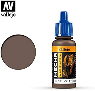 Vallejo Oiled Earth Wash 17ml Painting Accessories