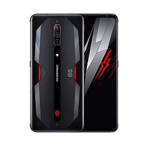 "Nubia RedMagic 6 (12+128GB) グローバル版 SIMフリー / 5G / Dual SIM/ゲーミングスマホ/日本語対応 / 6.8"" AMOLED, リフレッシュレート165Hz / 5050 mAh (Eclipse Black/エクリプスブラック)"