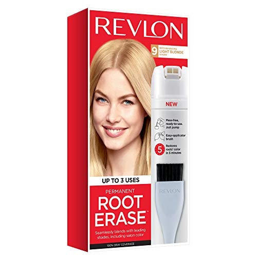 Price comparison product image Revlon Root Erase Permanent Hair Color,  Root Touchup Hair Dye,  Light Blonde,  3.2 Fluid Ounce