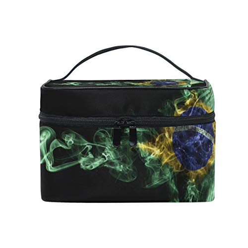Bolsa de maquillaje, organizador de cosméticos con forma de guacamayo volador, bolsa de viaje grande, el mejor regalo para adolescentes y mujeres