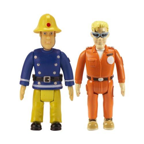 Sam Le Pompier – Pack 2 Figurines – Sam & Tom (Import Royaume-Uni)