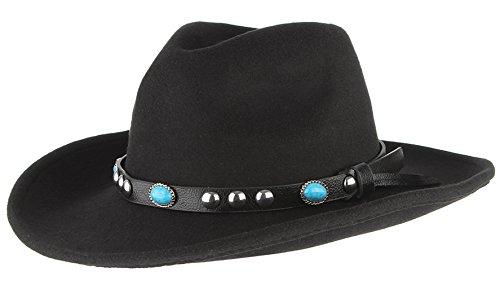 V-SOL GEMVIE Hat Sombreros Panamá Fedora Mujer Hombre Vintage Fiesta Talla Única