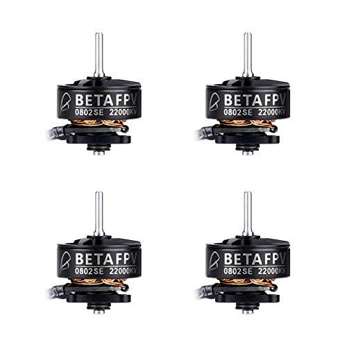 BETAFPV 4pcs 0802SE 22000KV Brushless Motor 1S FPV Motor for 1S Brushless FPV Racing Drone Like Meteor65 HD